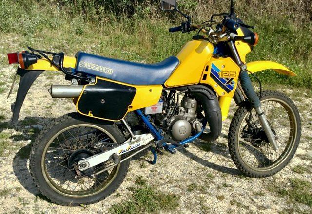 1988 Suzuki TS125X Motorcycle